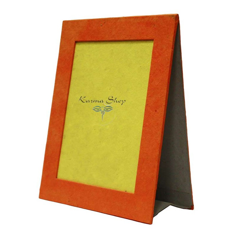 Portafoto da appoggio in carta di riso colorata - Portafoto da tavolo 20x30 ...