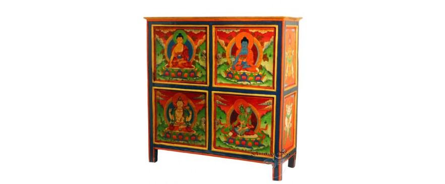 Mobili tibetani e mobili nepalesi karmashop - Mobili tibetani antichi ...