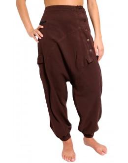 Pantaloni Krishna marrone
