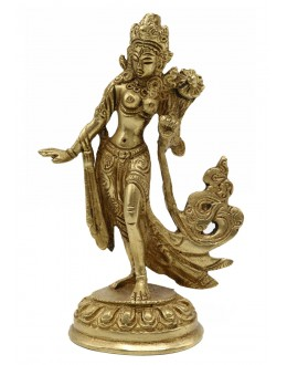 Statua Metallo Tara