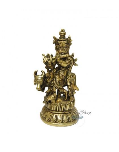Statua Metallo Buddha Piccola
