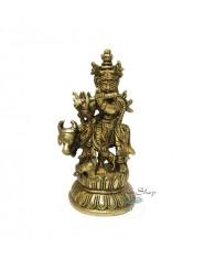 Statua di Krishna Metallo Piccola