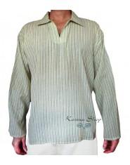 Camicia Uomo Righe 80's