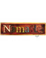 Namastè in legno