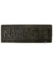 Namastè in legno Grande