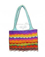 Borsa Lana Cotta Multicolor
