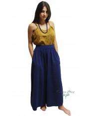 Pantaloni Larghi - Blu