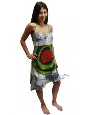 online store d1ccc 8480d Vestito Maglina Spalline