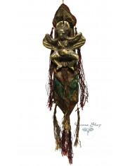 Talismano di Garuda in bronzo