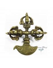 Kartika con Dorje in metallo