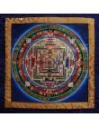 Thanka Kalachakra Mandala ad olio
