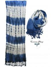 Foulard Goffrato Blu