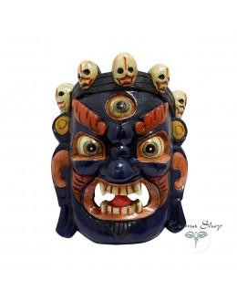 Maschera Mahakala in legno