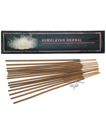 Incensi 100% Natural Flowers Himalayan Herbs