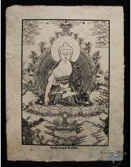 Poster piccolo Natural Buddha Shakyamuni