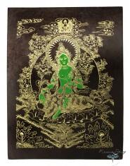 Poster piccolo Tara Verde Oro/Nero/Verde