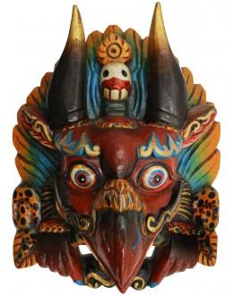 Maschera Garuda in legno
