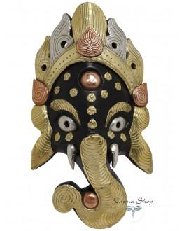 Maschera Ganesh Metallo