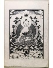 Poster grande Buddha della Medicina