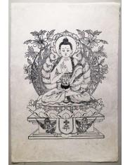 Poster grande Buddha Amoghasiddhi
