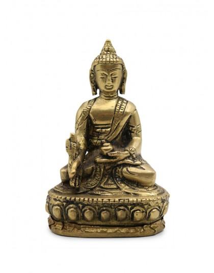 Statua Metallo Buddha della Medicina