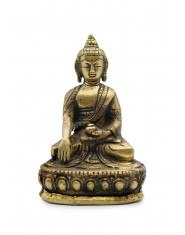 Statua Metallo Buddha Sakyamuni