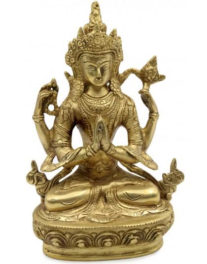Statua Metallo Avalokitesvara