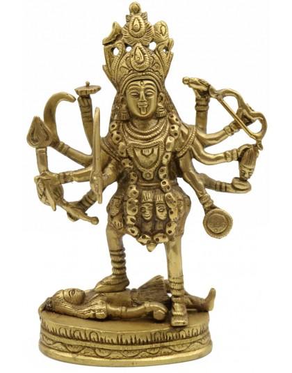 Statua Metallo Kali