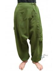Pantaloni Krishna verde