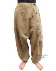 Pantaloni Krishna nocciola