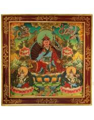 Pannello con Guru Rinpoche