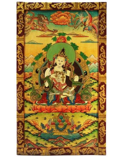 Pannello con Buddha Vajrasattva