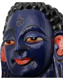 Maschera Buddha blu Piccola