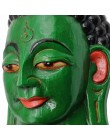 Maschera Buddha verde Piccola