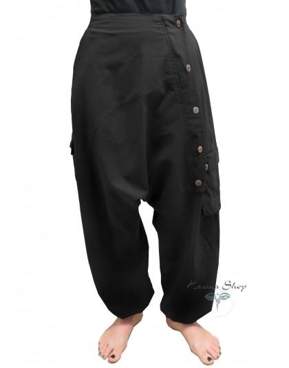 Pantaloni Krishna nero
