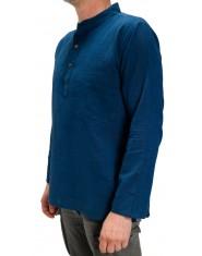 Camicia Uomo Polo Blu