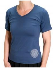T-Shirt Mandala Blu